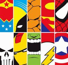 Concept: Super Hero Energy Drink - The Dieline - Superhero Wall Art, Superhero Party, Superhero Backdrop, Batman Party, Logo Super Heros, Marvel Cross Stitch, Creative Bookmarks, Diy Bookmarks, Avengers Birthday