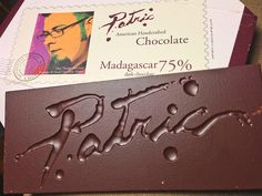 What a beautiful chocolate bar! Madagascar 75%, Patric Chocolates | Bean-to-Bar, microbatch chocolate tasting http://www.everintransit.com/chocolate-garage/