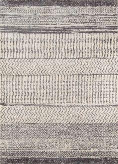 Gray Stripe Cotton Nora Area Rug World Market World