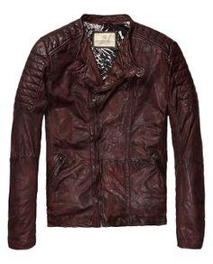 Biker jacket - http://webstore-all.scotch-soda.com/men/leather/biker-jacket/14010115104.html?dwvar_14010115104_color=dark%20rum