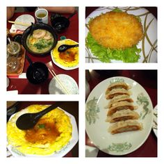 Japanese dinner. Kyoto Ramen with side dishes. Just delicious. @ Men-Ichi restaurant,  north point, Yishun, Singapore.