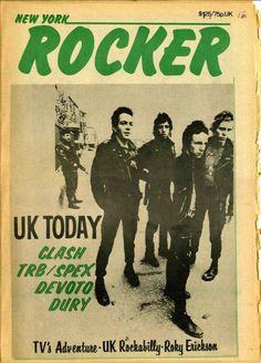 1978 New York Rocker — The Clash