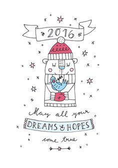 https://flic.kr/p/BFyh9P | 2016_wishes_finelittlepaper