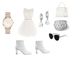 """White crisp"" by hudsongenesis on Polyvore featuring ROSEFIELD and Kate Spade"