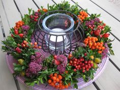 Fall Floral Arrangements, Christmas Arrangements, Dried Flower Wreaths, Dried Flowers, Deco Floral, Upcycled Crafts, Fall Flowers, Autumn Inspiration, Flower Decorations