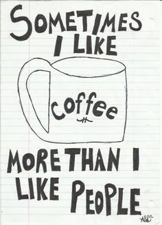 It's ok to admit that sometimes. #Coffee #MrCoffee