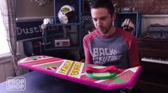 Learn How Build A 'Back To The Future' Hoverboard Super Cheap Halloween 2015, Diy Halloween Costumes, Happy Halloween, Halloween Decorations, Halloween Ideas, Costume Ideas, Geek Crafts, Crafts To Do, Back To The Future Party