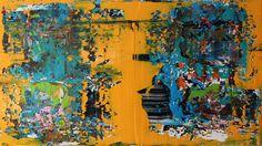 acrylic painting 100 cm x 80 cm NO.328