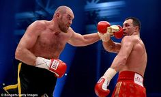 Tyson Fury has pulled out of his rematch withWladimir Klitschko (right) after another injury
