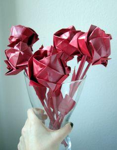 Origami Roses (Kawasaki Rose).
