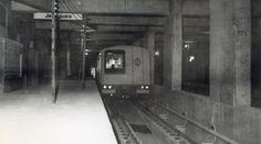 Obras civis Estação Jabaquara na década de 70 // Lindas Fotos Aéreas do Metrô