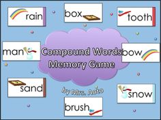 Compound+Words+Memory+Game+from+Mrs+Aotos+Room+on+TeachersNotebook.com+-++(20+pages)++-+This+memory+game+set+helps+students+recognize+and+spell+compound+words.