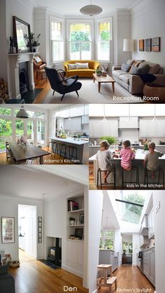 I want her whole house! Courtney Adamo from Babyccino Kids Home Living Room, Interior Design Living Room, Living Room Designs, Living Spaces, Interior Livingroom, Kitchen Interior, Kitchen Design, Style At Home, Victorian Living Room