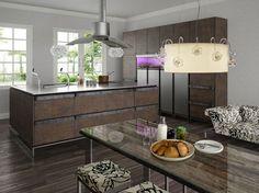 wohnideen für moderne provence küche