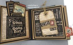 PB Mini (3) - Graphic 45: Typography - by Ginger Ropp, My Sisters Scrapper