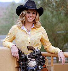 Melissa Gragoo-14 year old Cowboy Mounted Shooting Champ