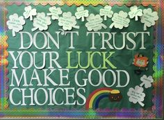St.Patricks day RA board