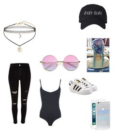 """"""""""" by kkhloe13 ❤ liked on Polyvore featuring WearAll, Miss Selfridge, adidas Originals, Sonix, River Island and My Little Pony"""