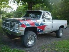 9 Facts That Nobody Told You About Paint Job For Pickup Truck Chevy Pickup Trucks, Gm Trucks, Chevy Pickups, Diesel Trucks, Lifted Trucks, Cool Trucks, Chevy 4x4, Truck Paint Jobs, Redneck Trucks