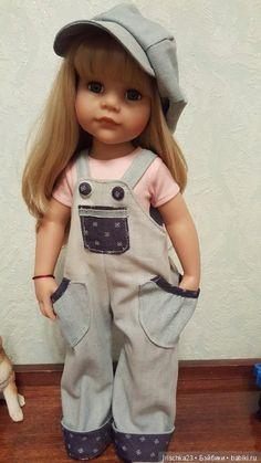 Добрый день, гости моего шопика, предлагаю вам джинсовый комплект для ваших кукол Готц и кукол ростом 48-50см. Джинсовый комлект/ комбинезон / 1 650р