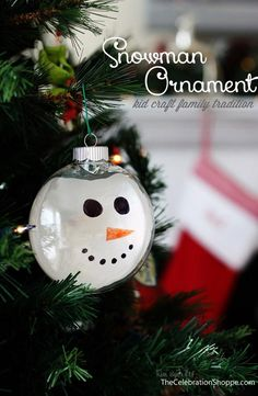 144 Best Diy Snowman Ornaments Images On Pinterest Christmas
