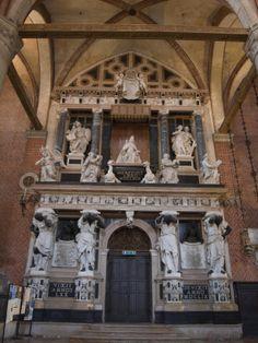 Basilica di Santa Maria Gloriosa dei Frari - Venice, Italy - Doge Giovanni Pesaro Monument