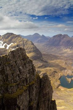 Liathach - Torridon Hills , Isle of Skye Highlands Scotland, Scotland Uk, England And Scotland, Scotland Travel, Scotish Highlands, Places To Travel, Places To Visit, Scottish Mountains, Scottish Islands