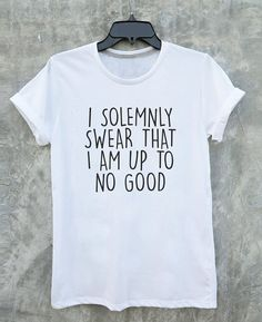 I solemnly swear that i am up to no good Tshirt by JabraGoodsShop