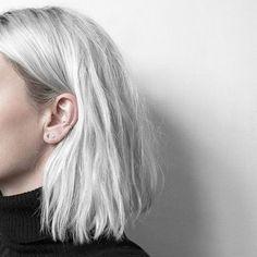 Белые волосы ▲ white hair ▲ whitehair ▲ белое