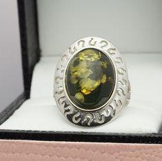 Sterling Silver Ring 925  Gemstone - TGGC/Gemporia