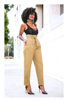 Outfit Details: Suit (H&M -old): Similar here (perfect match), here or here Women's Fashion Dresses, Fashion Pants, Look Fashion, Girl Fashion, Fashion Tips, Classy Outfits, Chic Outfits, Summer Outfits, Black Women Fashion
