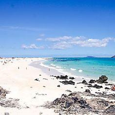 Das ist der schönste Strand auf Fuerteventua