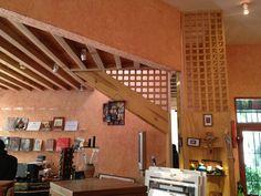 #Madera #Celosía #Vigas #Escalera  Museo Dolores Olmedo