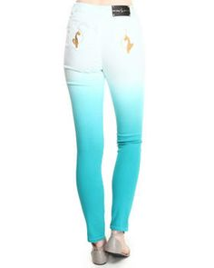 Love this Dip Dye High Waisted Jean by Baby Phat