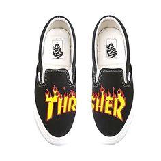 Zapatillas Vans Slip-On edición limitada Thrasher Flame disponibles en  nuestra tienda online con envío d0413dcc5bb
