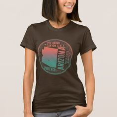 Rustic Turquoise-Pink Texture - Arizona T-Shirt - rustic gifts ideas customize personalize
