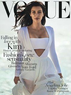 Kim Kardashian by Gilles Bensimon for Vogue Australia February 2015