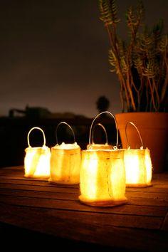 hanging lanterns from Papaververt,