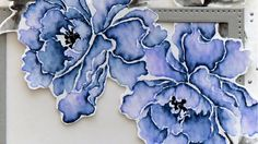 Watercolor Stamping (Guest Artist Marika Rahtu)