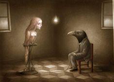 'Birdcage' by Nicoletta Ceccoli