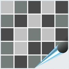 Probemuster Mosaik grau – Bild 1