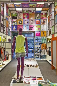 Cool Innovative Store Concept Interior Design At Disco Experience Photo