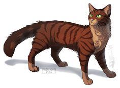 Warriors Cats - Foxleap by Cat-Patrisiya.deviantart.com on @DeviantArt