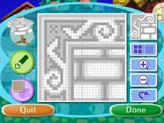 Animal Crossing Designs, flabbeycrossing: ok here are the patterns for my...