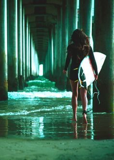 Surf girl...                                                                                                                                                                                 More