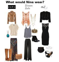 Nina proudman offspring fashion style jessicaacoates via polyvore what would nina wear?