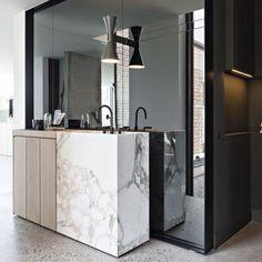 Design Details by Frederic Kielemoes #estliving #design #marble #taps #instadaily #instastyle #instadesign #details by est_living