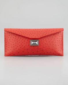 http://harrislove.com/kara-ross-super-stretch-prunella-ostrich-clutch-bag-red-p-2533.html