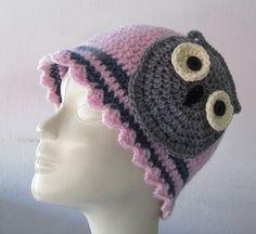Crochet hat women and girl / Knitted winter hats by SEVILSBAZAAR, $25.00