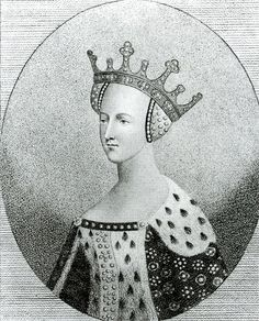 Catherine of France (27 October 1401 – 3 January 1437 was the Queen consort of England from 1420 until 1422. She was the daughter of King Charles VI of France, wife of Henry V of Monmouth, King of England,[2] mother of Henry VI, King of England and King of France, and through her secret marriage with Owen Tudor, the grandmother of King Henry VII of England. Catherine's older sister, Isabella of Valois, was Queen consort of England from 1396–1399, as the child bride of King Richard II of Engl...